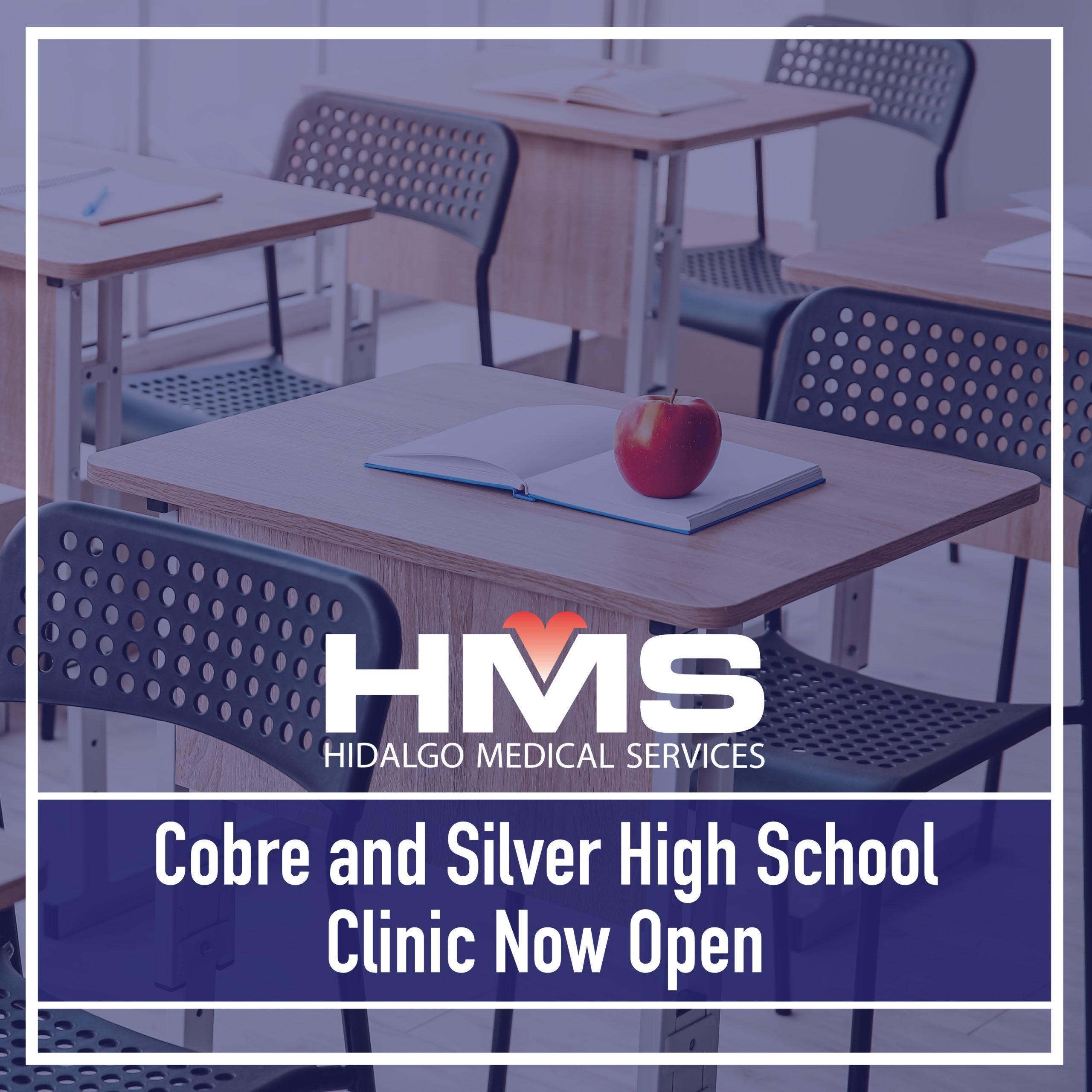 Cobre and Silver High School Clinics are Open!